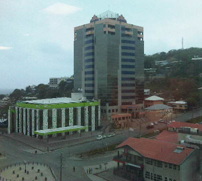 Down Town Port Moresby