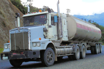 Highlands Highway Tanker