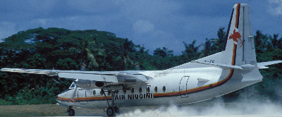 Air Niugini f27